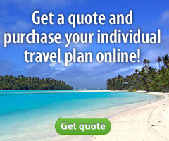 Get a quote and purchase your individual travel plan online!